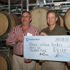 Linton Park Wines Donate to Rhino Conservation