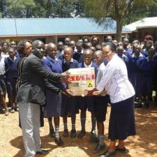 Eastern Produce Kenya donate materials to 48 primary schools